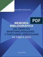 Memoria Bibliografica Maritimo