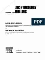 [Developments in Water Science 26] David Stephenson and Michael E. Meadows (Eds.) - Kinematic Hydrology and Modelling (1986, Academic Press,  Elsevier).pdf