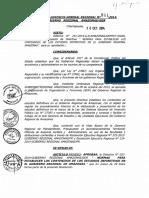 Normas Para Establecer Los Contenidos de Los Estudios Definitivos Gobierno Regional de Amazonas
