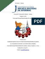 Informe de Calicata