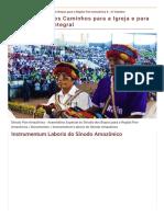 Instrumentum Laboris Do Sínodo Amazônico.pdf (1)