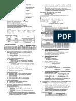 valores y fórmulas en pediatría