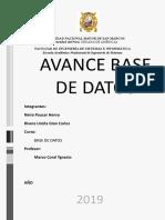 Avance Base de Datos5.0