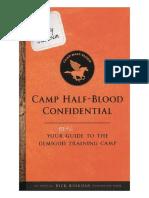 Campamento Mestizo Confidencial-Rick Riordan