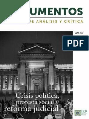 Revista Argumentos No1 2019 Final1 1 Perú Corrupción