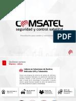 Presentación Comsatel Gps