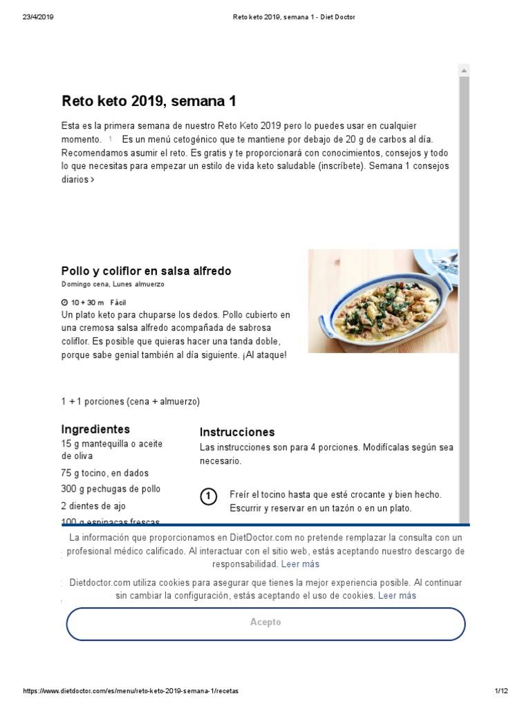 Desafío de pérdida de peso cetogénico de 21 días pdf