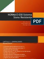 Norma sismo resistente E030