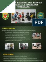 La Policía Nacional Del Perú en Relacion a La Seguridad Ciudadana