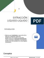 EXTRACCIÓN LIQUIDO-LIQUIDO