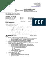 rory mcfarr resume