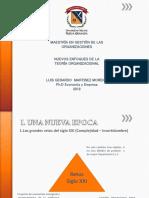 Introduccion Maestria Nuevas Tendencias Organizativas