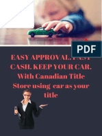 Easy Approval. Fast Cash. Keep Your Car.