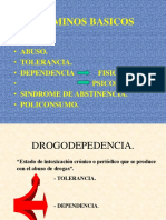 conceptos básicos drogas