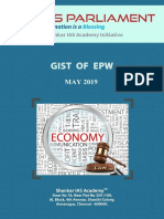 Gist of EPW May 2019 Www.iasparliament.com