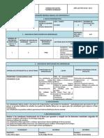 Informe Parcial de Asignatura 1ra Parcial 1er Quimestre