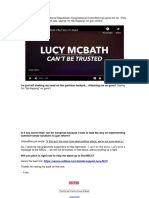 Congressmember Lucy McBath - GA-06 - Another Partisan Attack