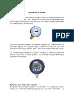 Tipos de Instrumentos de Presion