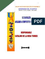 Elucidación Estructural Ultravioleta 2009II