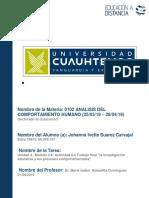Johanna Ivette Suarez Carvajal_Actividad 4.4 Trabajo Final La Investigación Educativa y Los Procesos Comportamentales