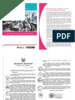 PROGRAMA CURRICULAR DE EDUCACIÓN PRIMARIA