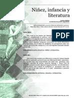 Ninez Infancia y Literatura Carlos Skilar