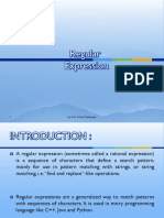 Regular Expression PDF Engineering
