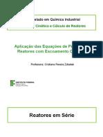 Aula 7 Reatores Em Serie