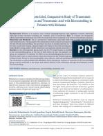 A Randomised, Open‑Label, Comparative Study of Tranexamic