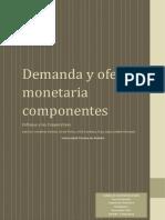 Demanda y oferta monetaria componentes.docx