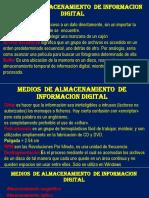 Medios de Almacenamiento de Informacion Digital