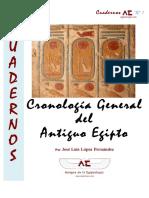 Cronologia General Antiguo Egipto CuadernosAE.1