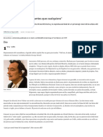 Entrevista a Dalí
