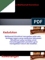 Hukum Acara Mahkamah Konstitusi