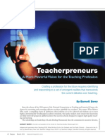 Teacher Preneur s