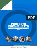 Presupuesto de Ingresos y Gastos 2019