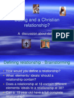 dating and a christian relationship