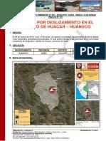 Reporte caso Huanuco