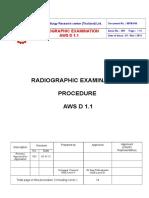 Wtm-046 Rt Procedure Aws d 1.1 2010-V01