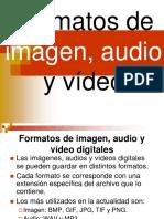formatos audio y video
