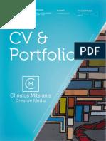 Christos Mitsianis CV & Portfolio Short Version