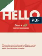 Church's Chicken 2016 'Have the Love' Campaign Evolution