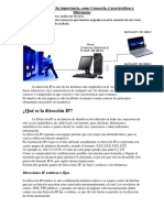 La dirección IP, Su importancia, como Conocerla, Características y Diferencias.pdf