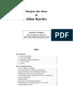 00 - Sinopses Das Obras de Allan Kardec