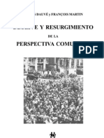 Declive y resurgimiento de la perspectiva comunista