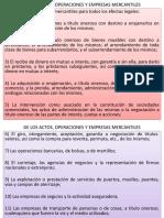 Actos y Operaciones Mercantiles IV