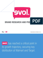 EVOL Branding Research and Positioning