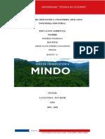 Informe Gira a Mindo
