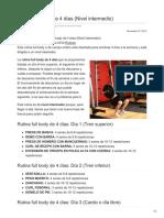Todoculturismo.net-Rutina Full Body de 4 Días Nivel Intermedio