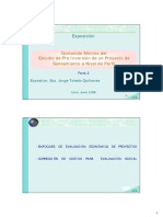 Perfil Residuos Solidos Ejemplo Factor Correccion